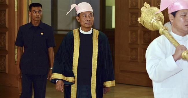 Myanmar parliament opens; spotlight on beleaguered speaker