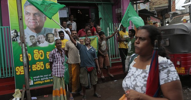Sri Lankan prime minister defeats ex-president in elections