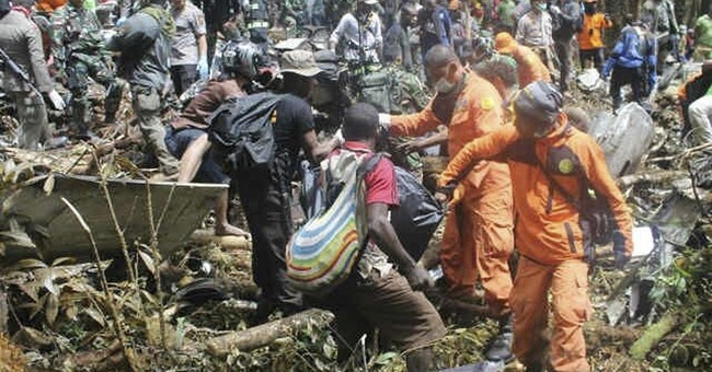Weather slows recovery of bodies from Indonesia plane crash