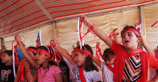 Jordan's second-largest Syria refugee camp gets school, well