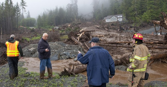 Official: 3 men missing in Alaska landslide presumed dead