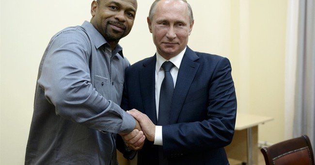 US boxer Roy Jones Jr. asks Putin for Russian citizenship