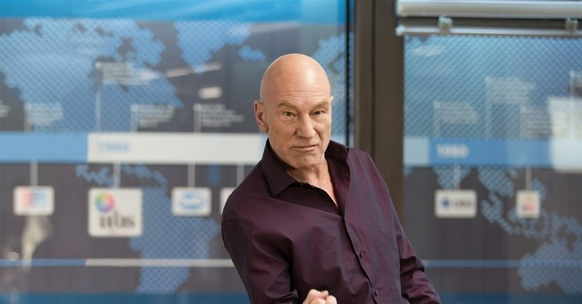 Patrick Stewart flexes his comedy muscle in 'Blunt Talk'