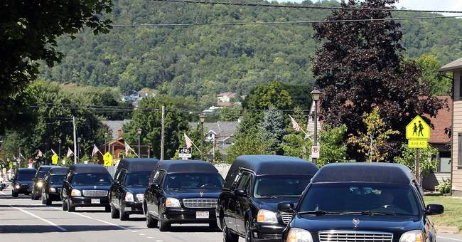 Funeral held in Minnesota for 8 slain Texas family members