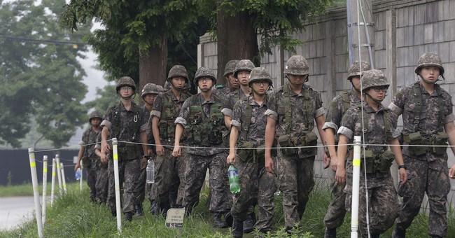 South Koreans calm despite North Korean threat