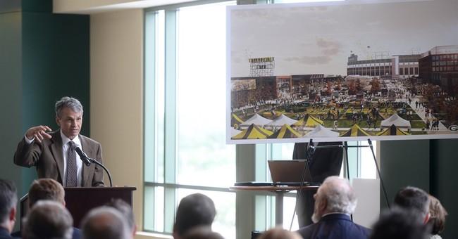 Packers unveil development plans for area near Lambeau Field