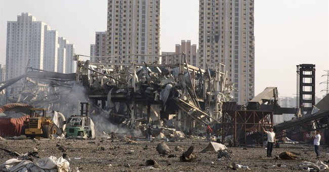 AP Exclusive: China blast site owner on state firm's board