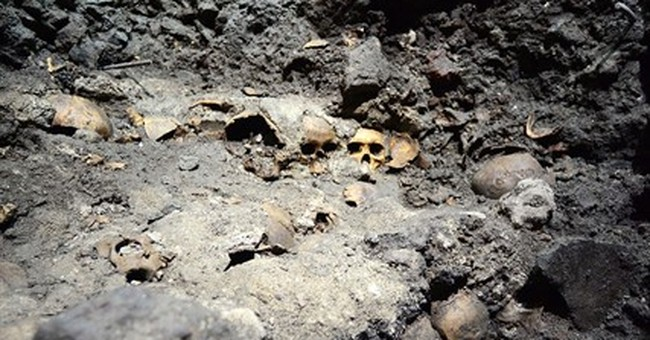 Mexico finds main skull rack at Aztec temple complex