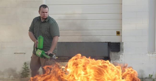 Detroit-area mayor seeks ban on personal flamethrowers