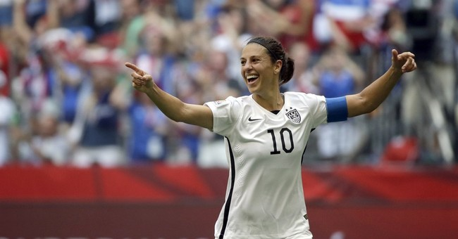 World Cup soccer star Carli Lloyd has book deal