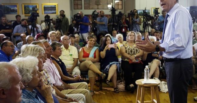 Bush struggles to keep spotlight, break away from last name