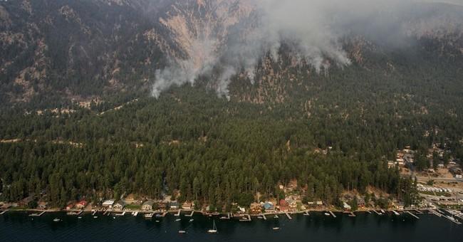 AP PHOTOS: Deadly Washington wildfire rages on