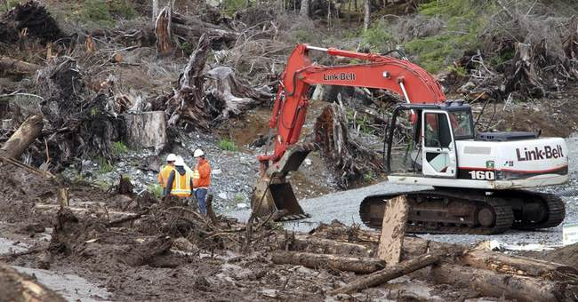 The Latest on Alaska landslides: Search for bodies resumes