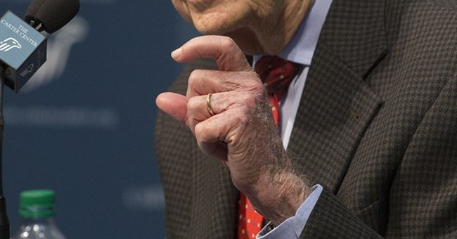 The Latest: Jimmy Carter's doctor talks about treatment