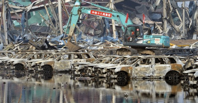 4 new fires erupt in China's Tianjin port disaster area