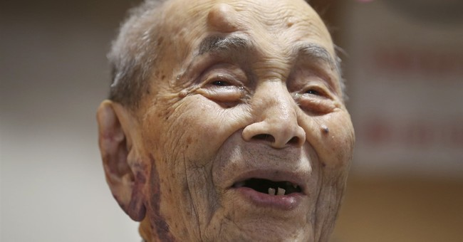 Guinness recognizes 112-year-old Japanese as oldest man