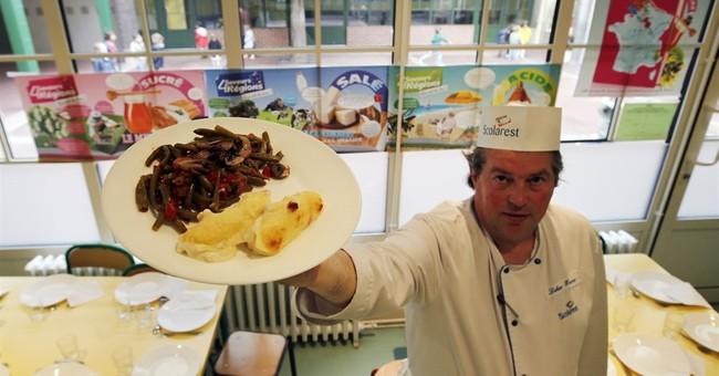 French lawmaker wants mandatory vegetarian menu at school