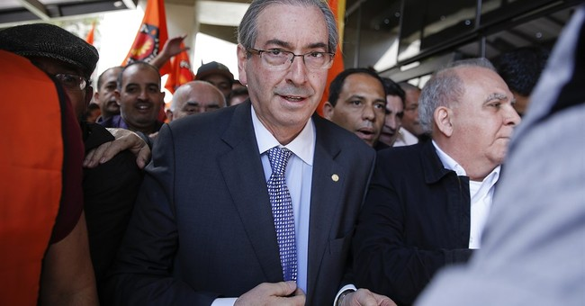 Leader of Brazil's lower house denies corruption charges