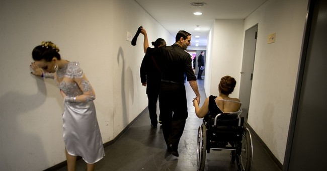Argentine in wheelchair dances at World Tango Championships