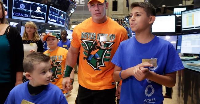 WWE star Cena will grant milestone 500th Make-A-Wish request