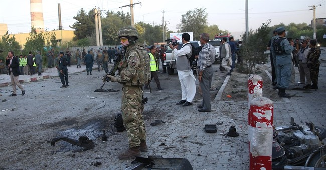Afghan car bombing kills at least 12, including 3 Americans