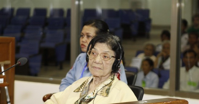 Top woman leader of Cambodia's Khmer Rouge dies at 83