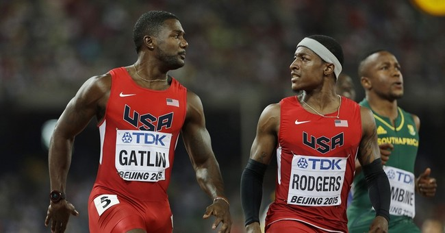 Usain Bolt beats Justin Gatlin for gold in 100 at worlds