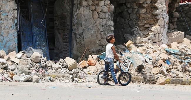 Yemen officials say coalition bombs rebels at Bab el-Mandeb