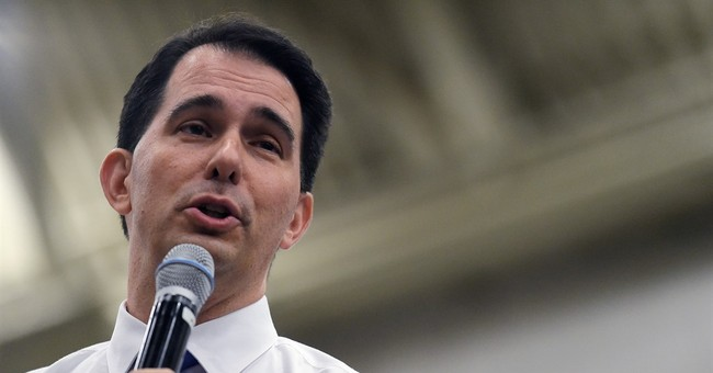 Walker talks tough on China while campaigning in Iowa