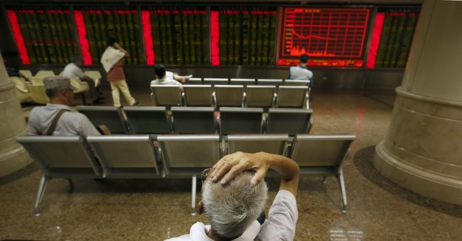 China's stock market suffers biggest one-day fall since 2007
