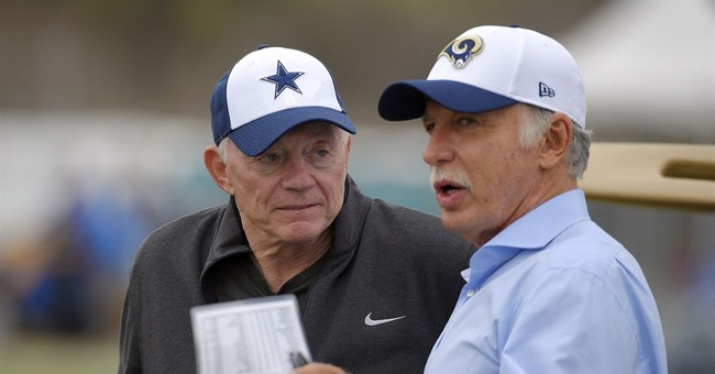 Cowboys owner Jones apologizes to 49ers for grass comment