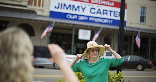 Hometown, church mobilize to support Plains' Jimmy Carter