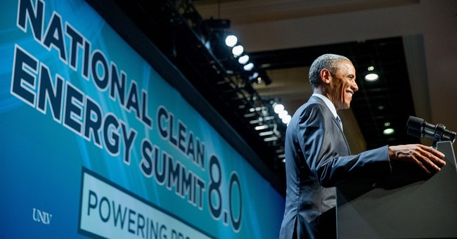 Solar, wind power draw Obama support at Vegas energy summit