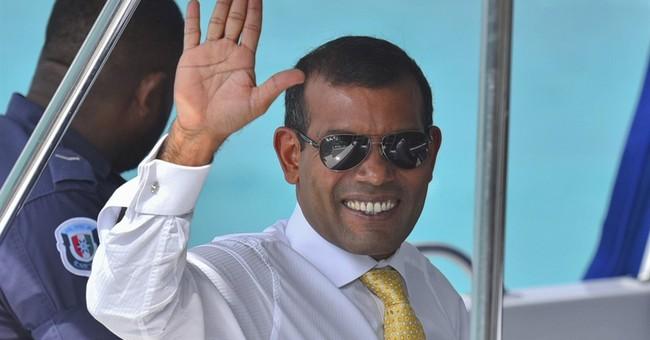 Party spokesman: Maldives ex-president taken back to prison