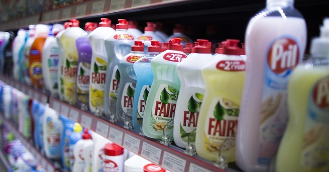 Russia removes foreign detergents from shops, citing risks