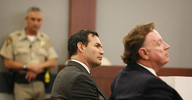 Ex-Vegas firefighter cast as mastermind in wife slaying case