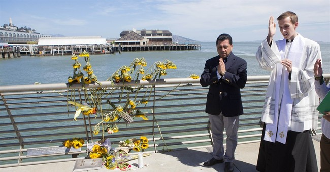 Fatal shot in San Francisco pier shooting was ricochet