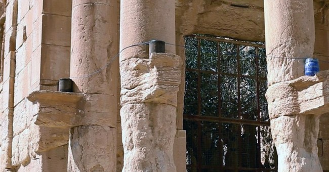 Islamic State images purport to show destroyed Syrian temple