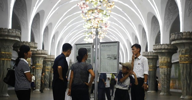 In N. Korean capital, residents used to life in war's shadow