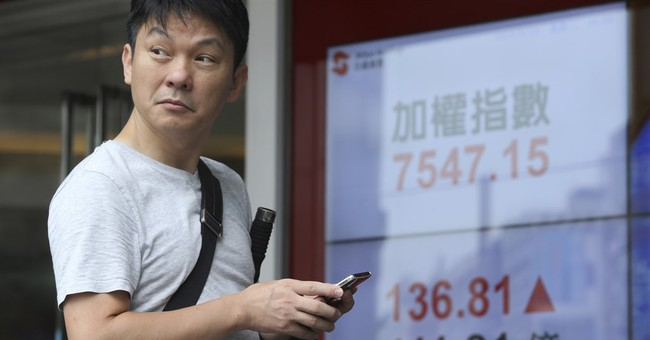 Chinese stocks tumble again as other Asian markets rebound