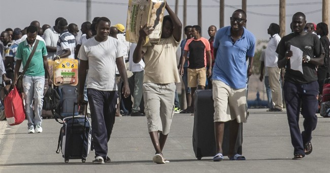 Israel releases African migrants from detention center