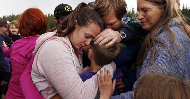 Utah boy survived night in woods by curling up in warm rocks
