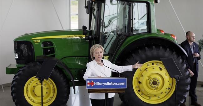 Clinton offers rural proposals in Iowa