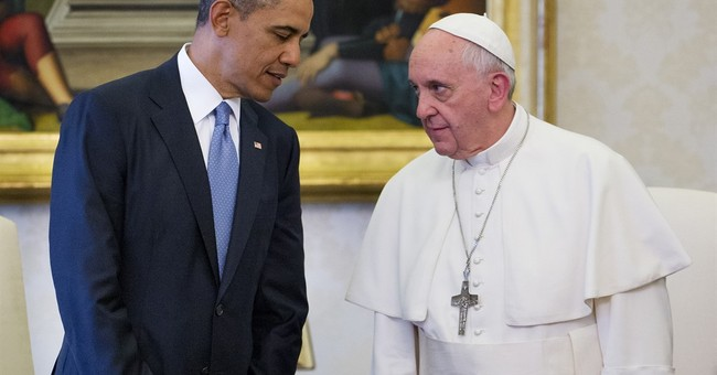 Focus shifts to shared goals with Obama as papal visit nears