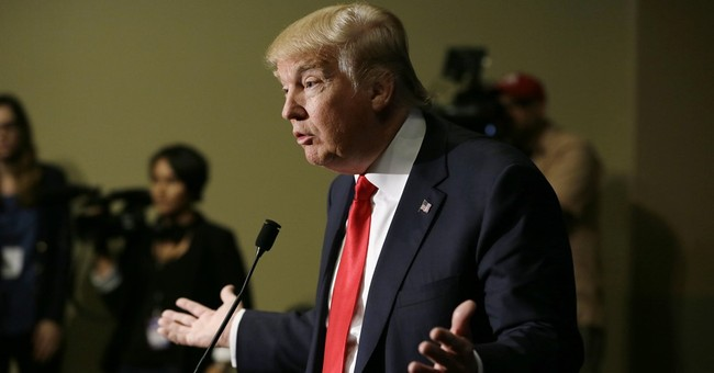 Donald Trump's campaign team, dwarfed by rivals
