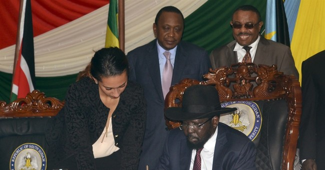 South Sudan leader signs peace deal amid sanctions threat