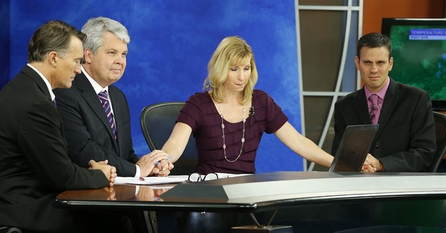 Anchor's shock at live TV slayings shifts to poise, strength