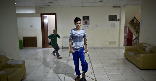 New hospital in Jordan treats worst of Mideast's war-wounded