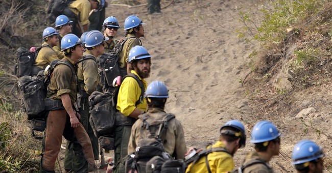 Northwest fire crews hope for a break in the weather