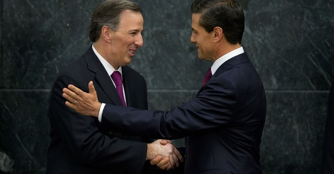 Mexico replaces security chief and foreign relations head